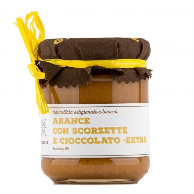 Arance e cioccolato fondente